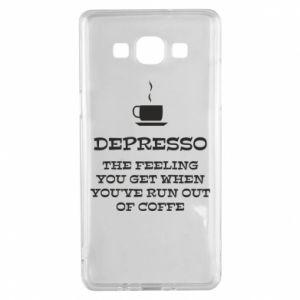 Samsung A5 2015 Case Depresso