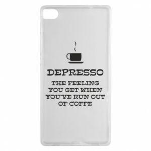 Huawei P8 Case Depresso