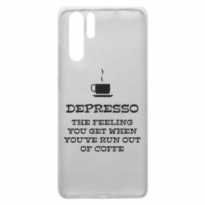 Huawei P30 Pro Case Depresso