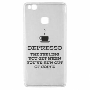 Huawei P9 Lite Case Depresso