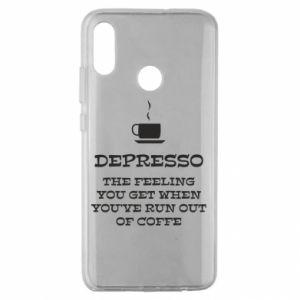 Huawei Honor 10 Lite Case Depresso