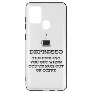 Samsung A21s Case Depresso