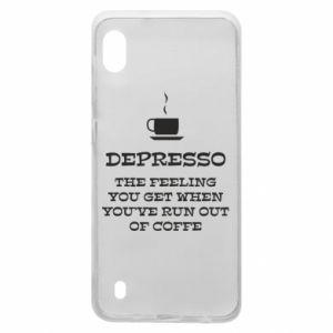 Samsung A10 Case Depresso