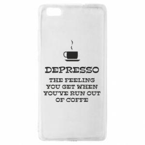 Huawei P8 Lite Case Depresso