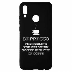 Huawei P Smart 2019 Case Depresso
