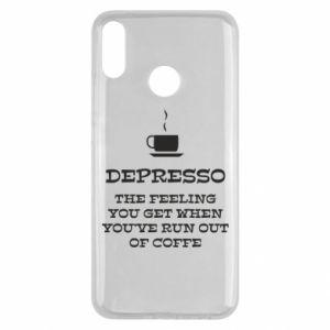 Huawei Y9 2019 Case Depresso