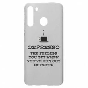 Etui na Samsung A21 Depresso