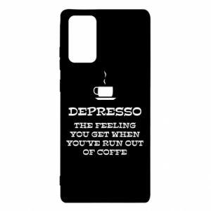 Etui na Samsung Note 20 Depresso