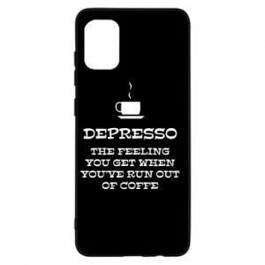 Etui na Samsung A31 Depresso