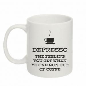 Mug 330ml Depresso