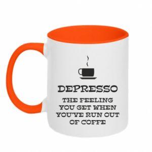 Kubek dwukolorowy Depresso