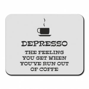 Mouse pad Depresso
