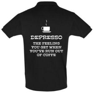 Men's Polo shirt Depresso
