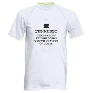 Men's sports t-shirt Depresso