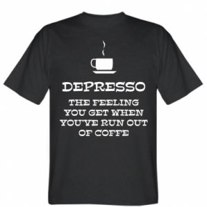 T-shirt Depresso