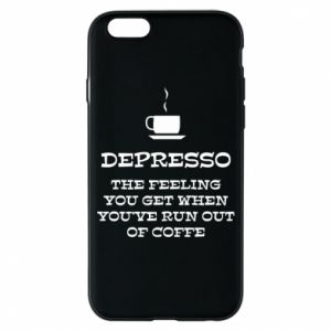 Etui na iPhone 6/6S Depresso