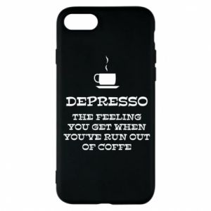 Etui na iPhone 7 Depresso