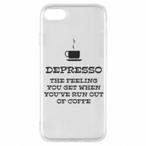 Etui na iPhone 8 Depresso