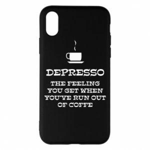 iPhone X/Xs Case Depresso