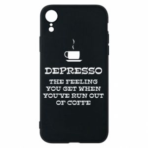 Etui na iPhone XR Depresso