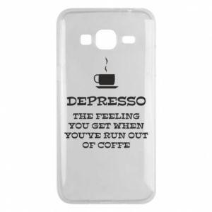 Samsung J3 2016 Case Depresso
