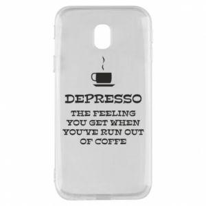 Samsung J3 2017 Case Depresso