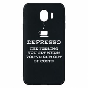 Samsung J4 Case Depresso