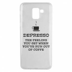 Samsung J6 Case Depresso