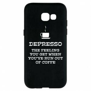 Samsung A5 2017 Case Depresso