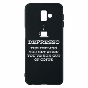 Samsung J6 Plus 2018 Case Depresso
