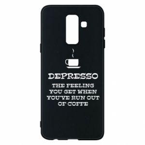 Samsung A6+ 2018 Case Depresso