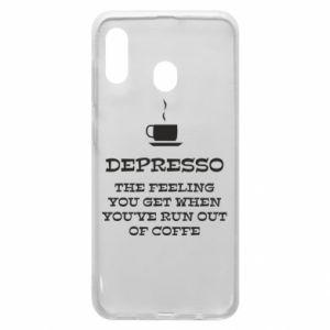 Samsung A20 Case Depresso