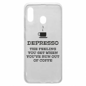Samsung A30 Case Depresso