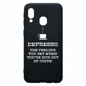 Samsung A40 Case Depresso