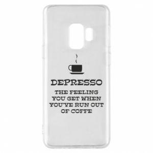 Samsung S9 Case Depresso