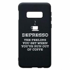 Samsung S10e Case Depresso