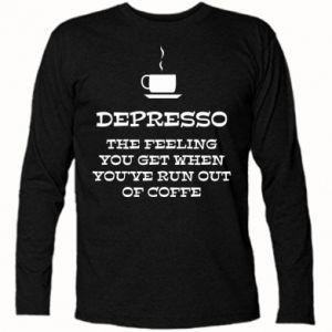 Koszulka z długim rękawem Depresso