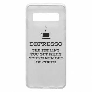 Samsung S10 Case Depresso