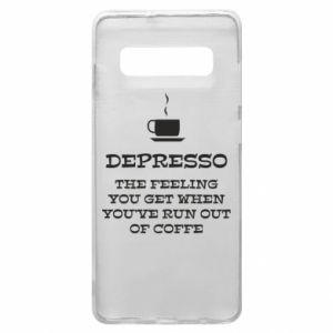 Samsung S10+ Case Depresso