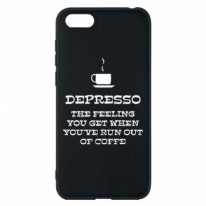 Huawei Y5 2018 Case Depresso