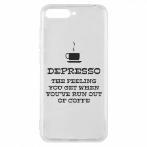 Huawei Y6 2018 Case Depresso
