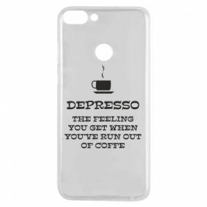 Huawei P Smart Case Depresso