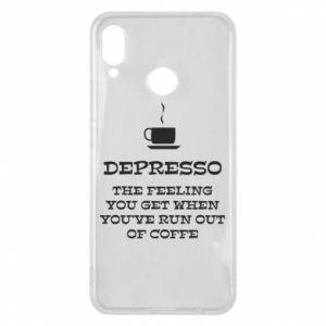 Huawei P Smart Plus Case Depresso
