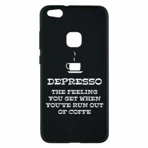 Huawei P10 Lite Case Depresso