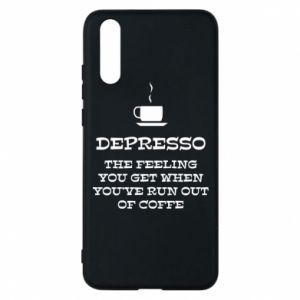 Huawei P20 Case Depresso