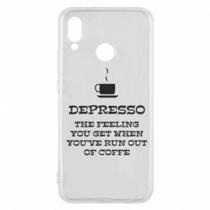 Huawei P20 Lite Case Depresso