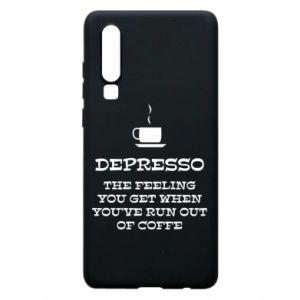 Huawei P30 Case Depresso