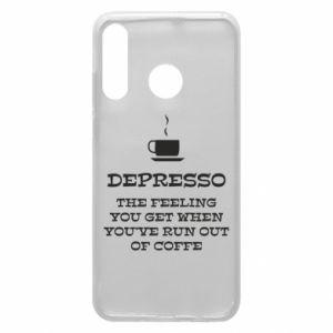 Huawei P30 Lite Case Depresso