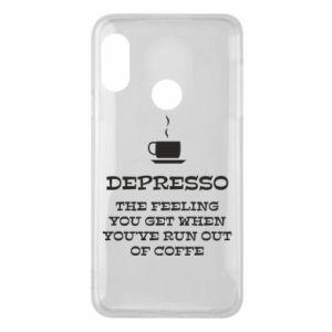 Mi A2 Lite Case Depresso