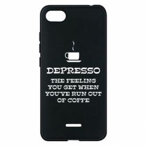 Xiaomi Redmi 6A Case Depresso